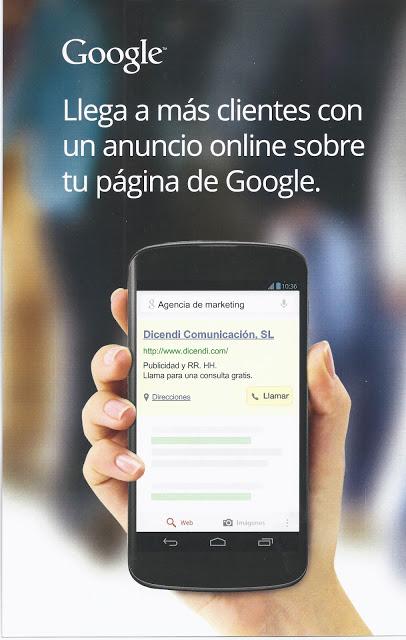 Campaña Marketing Directo de Google