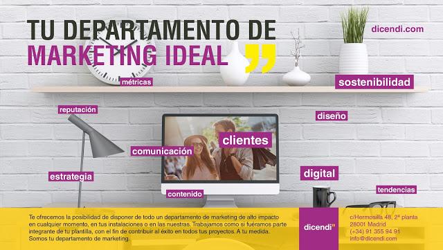 TU DEPARTAMENTO DE MARKETING IDEAL