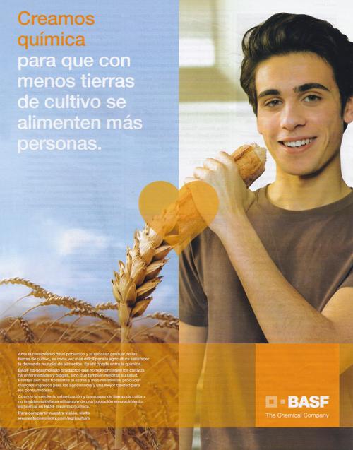 pieza de publicidad de Basf - marketing social corporativo