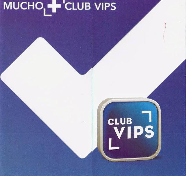 """Folleto """"Mucho +"""" - Club VIPS"""
