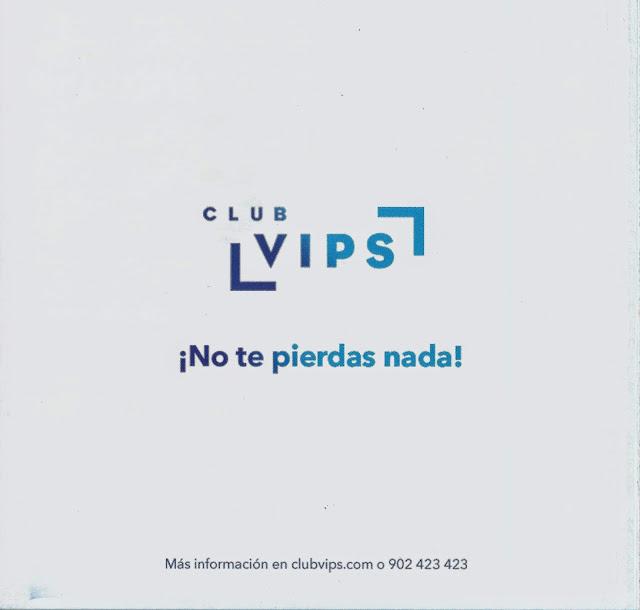 """Folleto """"Mucho +"""" - Club VIPS - 3"""