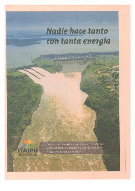 Ejemplo de publicidad institucional: Itaipu - Marketing Social Corporativo