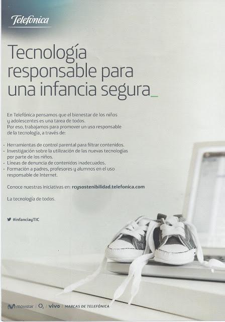 Anuncio Telefonica Tecnología Responsable Para Una Infancia Segura