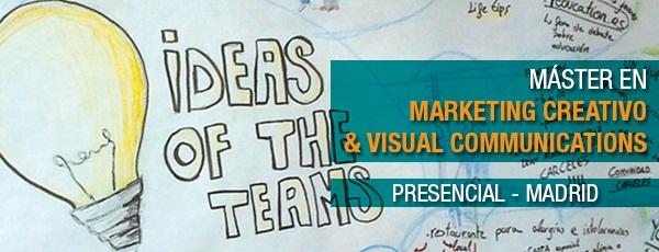 Máster en marketing creativo y visual communications - MSMK
