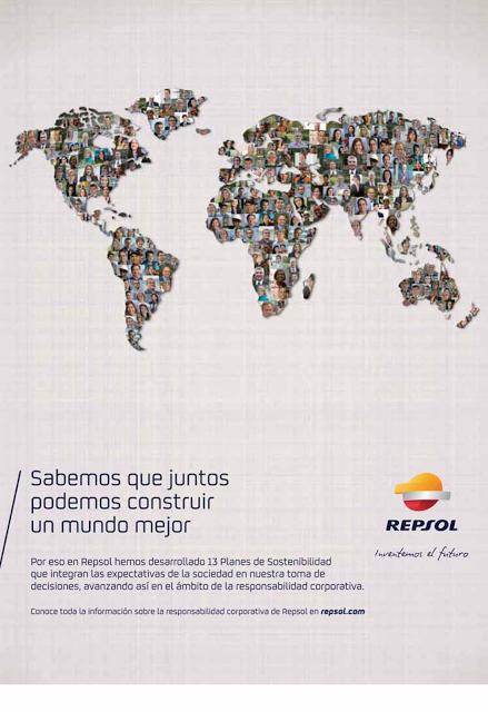 Ejemplo de Publi - Marketing Social Corporativo de Repsol