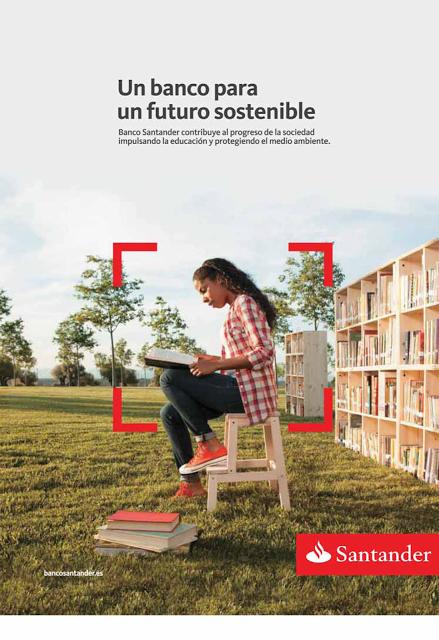 Ejemplo de Publi - Marketing Social Corporativo del Santander