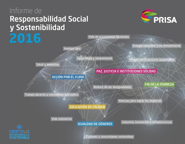 Informe de Responsabilidad Social y Sostenibilidad 2016 de PRISA