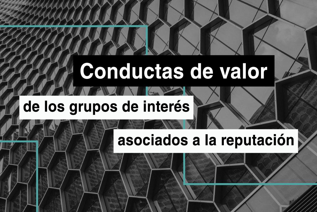 Conductas de valor de los stakeholders