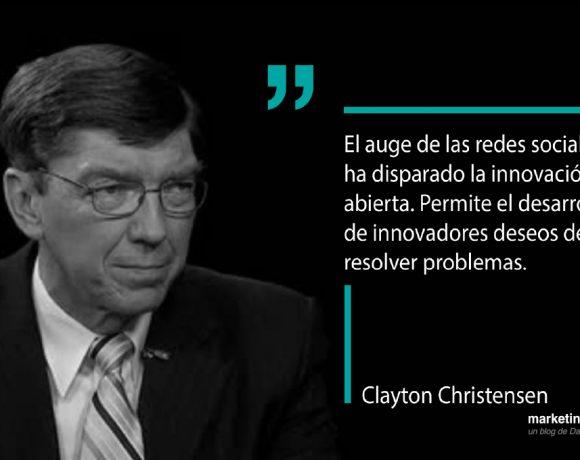Cita de Clayton Christensen
