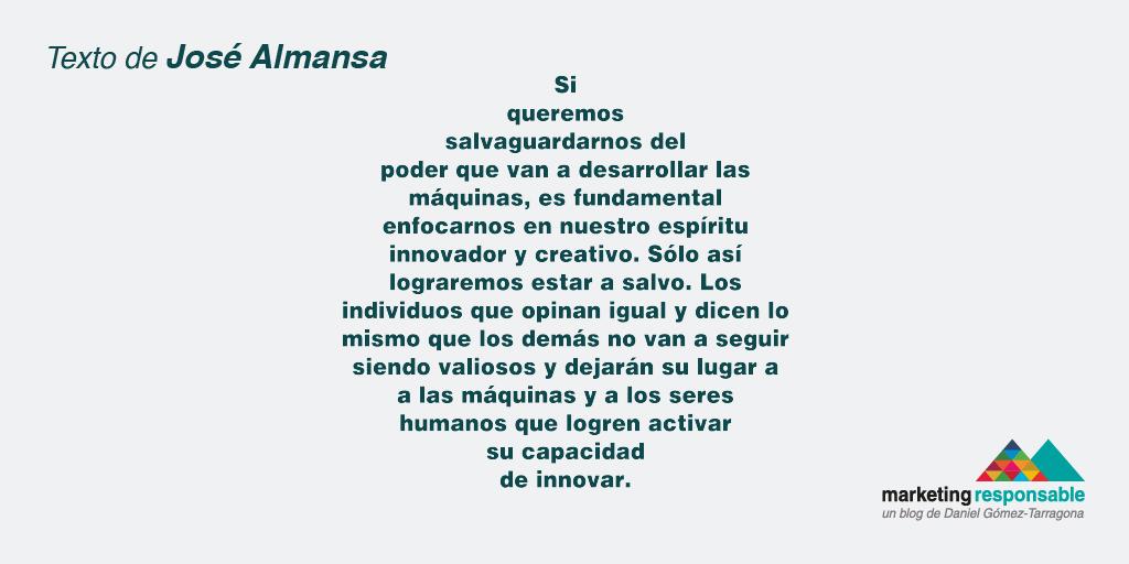Cita de Jose Almansa