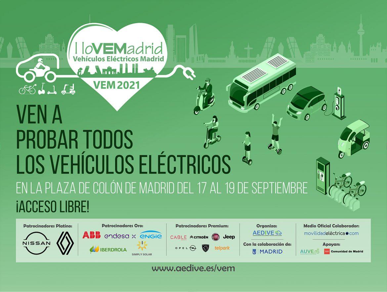 VEM2021 - Feria del vehículo eléctrico de Madrid
