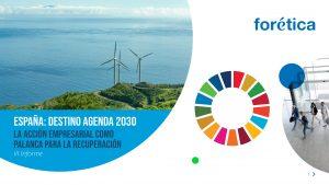 España: Destino Agenda 2030. La acción empresarial como palanca para la recuperación - Portada
